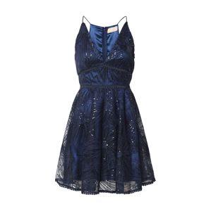 Love Triangle Společenské šaty 'Constellations Dress'  námořnická modř
