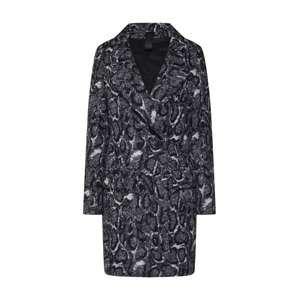DRYKORN Přechodný kabát 'GIRONA'  černá / bílá