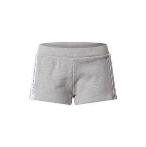 Calvin Klein Swimwear Pyžamové kalhoty  šedá / bílá