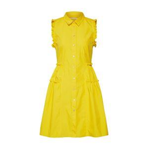 IBlues Košilové šaty 'ERACLE'  žlutá