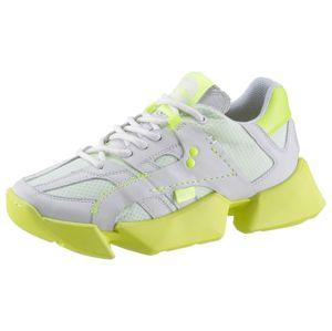 Buffalo London Tenisky  bílá / svítivě žlutá