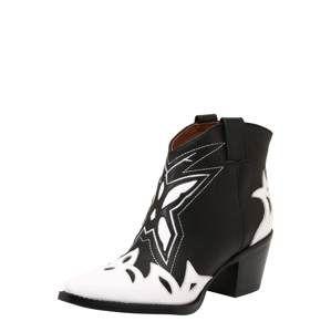 Jeffrey Campbell Kotníkové boty 'TOONEY'  černá