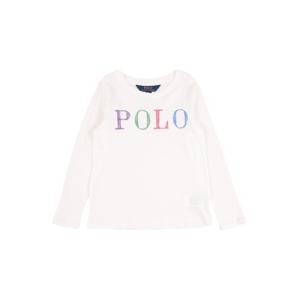 POLO RALPH LAUREN Tričko  bílá / královská modrá / tmavě růžová / trávově zelená / bobule