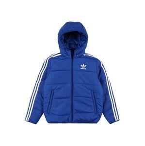 ADIDAS ORIGINALS Zimní bunda  modrá / bílá