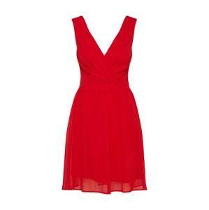 SISTERS POINT Koktejlové šaty 'GALLI'  červená