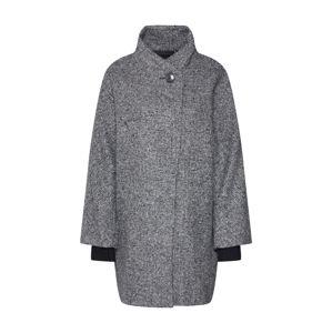 Esprit Collection Přechodný kabát  čedičová šedá / černá