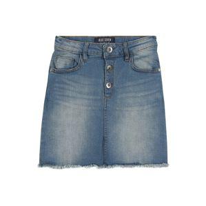 BLUE SEVEN Sukně  modrá džínovina
