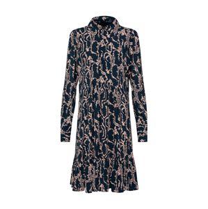 Y.A.S Košilové šaty 'Mole'  tmavě modrá / světle růžová