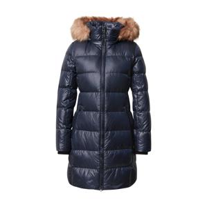 Calvin Klein Zimní kabát  námořnická modř / béžová