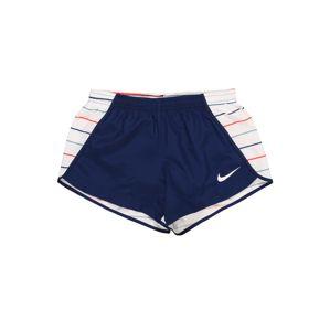 NIKE Sportovní kalhoty  modrá / bílá / mix barev