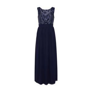 Mela London Společenské šaty 'SEQUIN DETAILED MAXI DRESS'  námořnická modř