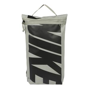 NIKE Sportovní taška  šedá / černá