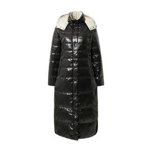 RINO & PELLE Zimní kabát  černá