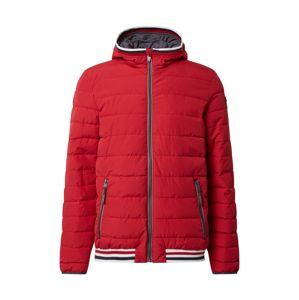G.I.G.A. DX by killtec Sportovní bunda 'Ventoso  Quilted BLSN A'  červená / bílá / námořnická modř