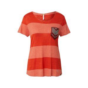 Key Largo Tričko 'JANA'  červená / korálová