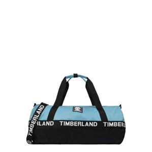 TIMBERLAND Cestovní taška  světlemodrá / bílá / černá