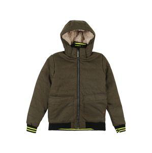 KILLTEC Zimní bunda 'Bantry'  khaki / žlutá
