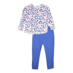 SANETTA Pyžamo  modrá / růžová / bílá