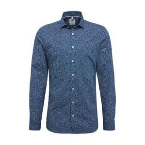 OLYMP Společenská košile 'Level 5'  marine modrá / mix barev