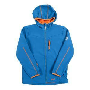 JACK WOLFSKIN Přechodná bunda 'WHIRLWIND'  modrá / oranžová