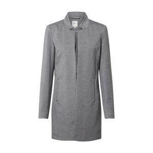 ONLY Přechodný kabát 'ONLPOPTRASH SOHO COATIGAN PNT'  šedý melír