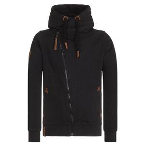 Naketano Mikina s kapucí  černá