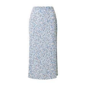 Cotton On Sukně '90Ss'  bílá / modrá