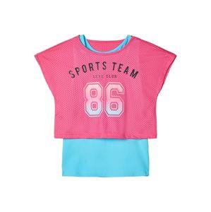 NAME IT Top  pink / modrá
