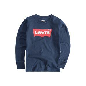 LEVI'S Tričko 'L/S Batwing Tee'  modrá