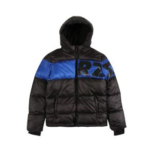 Raizzed Zimní bunda 'Tacoma'  černá / modrá