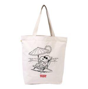 LEVI'S Nákupní taška 'Peanuts Snoopy Levi's® Beach Tote'  režná