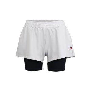 Tommy Sport Sportovní kalhoty  noční modrá / bílá