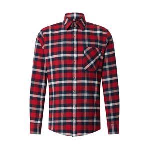 JOOP! Jeans Košile 'Hanson'  červená / námořnická modř / bílá
