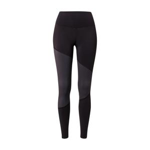 Casall Sportovní kalhoty  šedá / černá