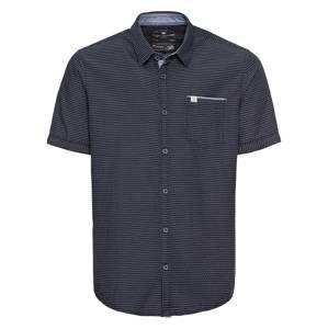 TOM TAILOR Košile  tmavě modrá