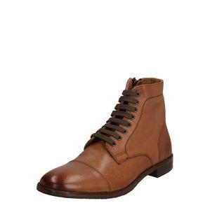 Gordon & Bros Šněrovací boty 'Alessio-BT'  koňaková