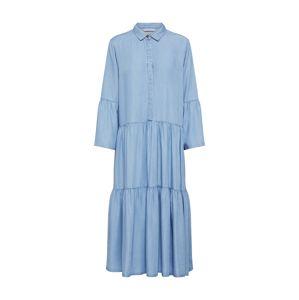 NÜMPH Košilové šaty 'NUANNA'  modrá
