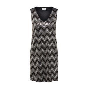 JACQUELINE De YONG Společenské šaty 'OPHELIA'  černá / stříbrná