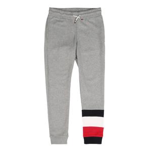 TOMMY HILFIGER Kalhoty  šedý melír / námořnická modř / bílá / červená