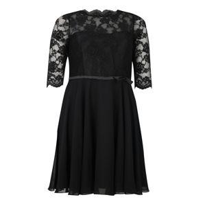 My Mascara Curves Koktejlové šaty  černá