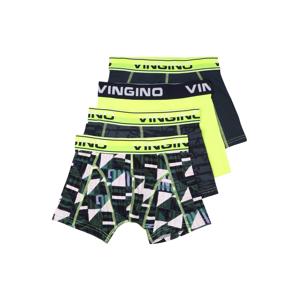VINGINO Spodní prádlo  svítivě žlutá / bílá / smaragdová / černá