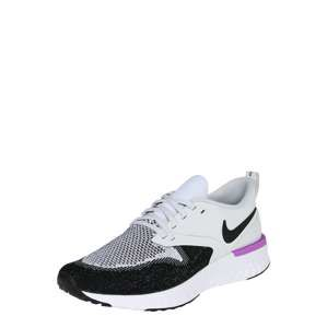 NIKE Běžecká obuv 'Odyssey React Flyknit 2'  fialová / černá / bílá