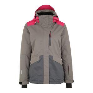 ICEPEAK Outdoorová bunda 'Katlyn'  režná / pink