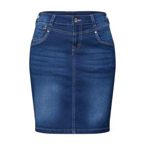 Cream Sukně 'KammaCR Denim Skirt'  tmavě modrá / modrá džínovina