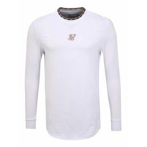 SikSilk Shirt  bílá