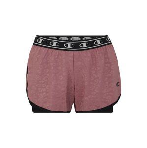 Champion Authentic Athletic Apparel Sportovní kalhoty  fialová / černá