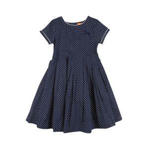 STACCATO Šaty  námořnická modř / bílá