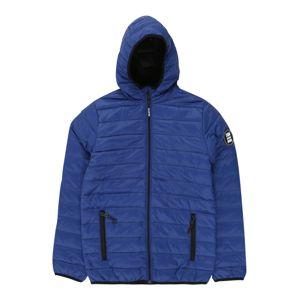 STACCATO Přechodná bunda  černá / královská modrá
