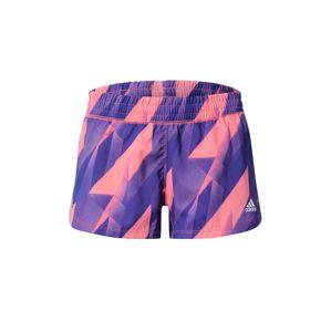 ADIDAS PERFORMANCE Funkční kalhoty  modrá / pink