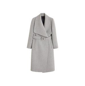 MANGO Přechodný kabát 'Barto'  světle šedá